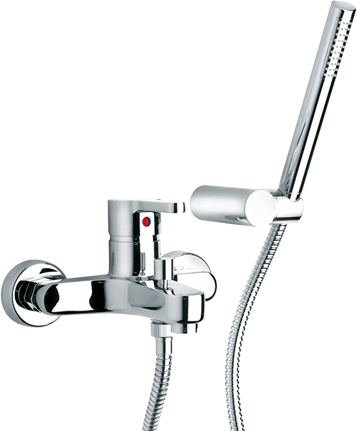 Paini Arena 92?External CR105?Bath Mixer With Shower Duplex