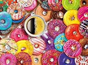 Jigsaw Puzzles for Adults 1000 Piece - Donuts - Large Size Wooden Every Piece is Unique Intellectual Development