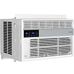 hOmelabs 6,000 BTU Window Air Conditioner with Smart Control