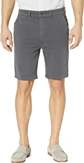 Hudson Jeans Mens Relaxed Chino Short Twill Casual Shorts - Gray - 33