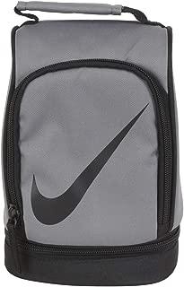 Nike Paneled Upright Insulated Lunchbox - Gray/Black, one Size