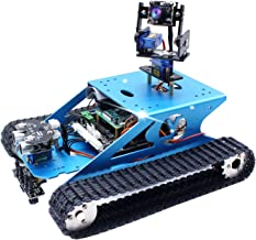 Yahboom Professional Raspberry Pi AI Robot Kit with Camera Programming Electronic DIY Tank Robotics Kit for Teens and Adul...
