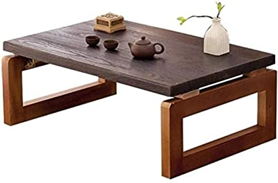 Coffee Table Coffee Tables Living Room Furniture Household Small Mini Wooden Folding Table Coffee Tables Windows and Zen Children's Table Small Coffee Tables (Color : White, Size : 70 * 45 * 30cm)