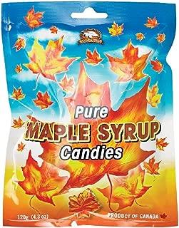Canada True Maple Leaf Candies 120g - Bag