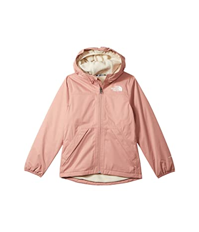 The North Face Kids Warm Storm Rain Jacket (Little Kids/Big Kids) (Pink Clay) Girl