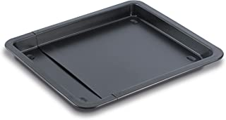 Grizzly Plaque de Cuisson ajustable - Plat à Four Extensible - Antiadhésif -33 à 52 cm