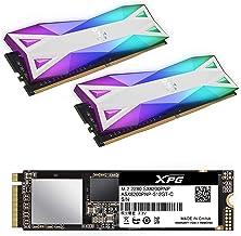 XPG SX8200 Pro 1TB M.2 PCIe 2280 NVMe 3x4 SSD with D60G DDR4 3600Mhz CL18 Desktop Memory Bundle Kit