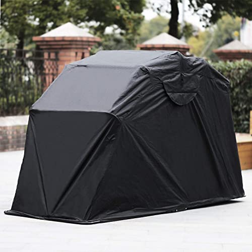 new arrival Mophorn Motorcycle Shelter Shed Strong Frame Motorbike Garage Waterproof 106.5 Inch X41.5 wholesale Inch X61 Inch Motorbike Cover Tent Scooter Shelter outlet online sale 120055 Hoods for Vehicles outlet sale