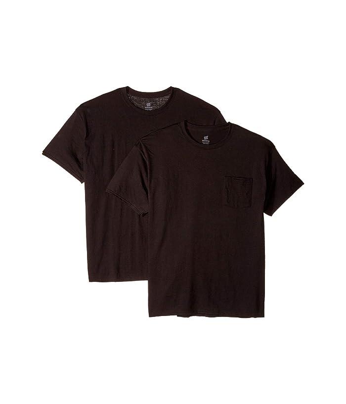 Hanes X-Temp® FreshIQ® Workwear Pocket Tee Value 2-Pack