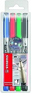 Stabilo Write-4-all 146-4 Permanent Marker Pen Case Medium 1mm Pack Of 4