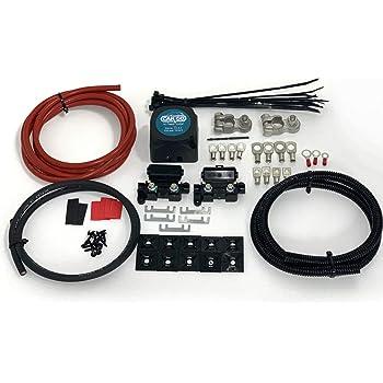 30amp Camper Van Conversion Smartcom Camper Van Voltage Sensing Relay Kit Split Charge Relay Kit 12Volt