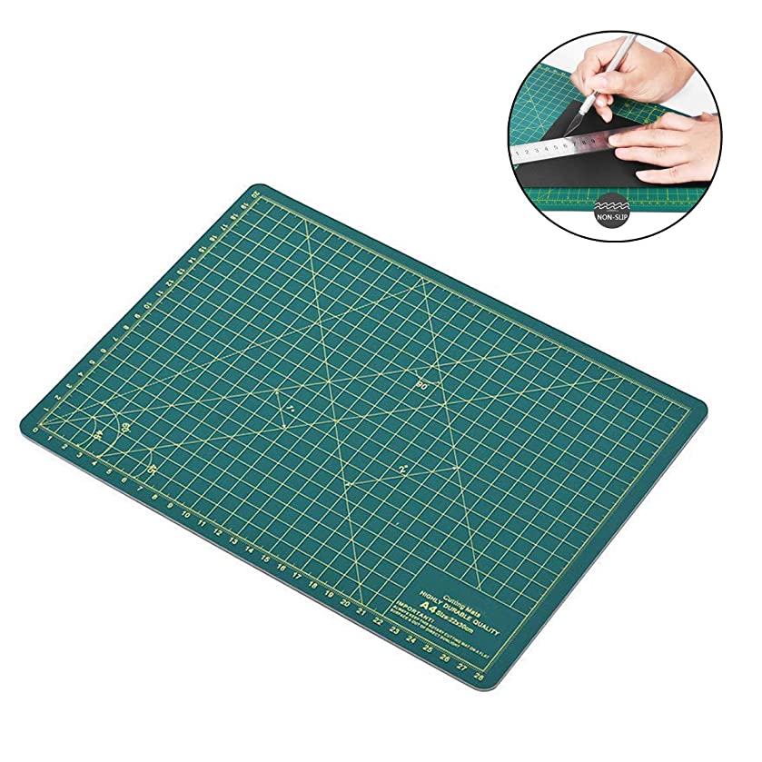 LERTREE Non Slip Professional Double-Sided Self Healing Rotary Cutting Mat Board Tool 12