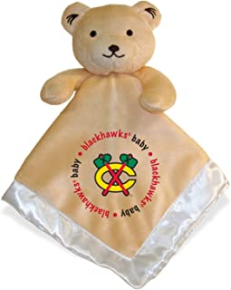 Embroidered Blackhawks Baby Security Bear