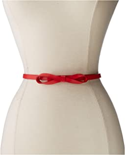 Audrey Skinny Bow High Waist Belt