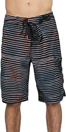 Bleeding S S Mens Boardshorts in Chocolate by Insight Clothing