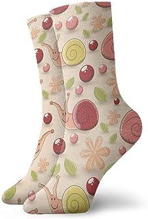 yting, sin costuras para niños de caracoles de algodón casual calcetines de deporte unisex.