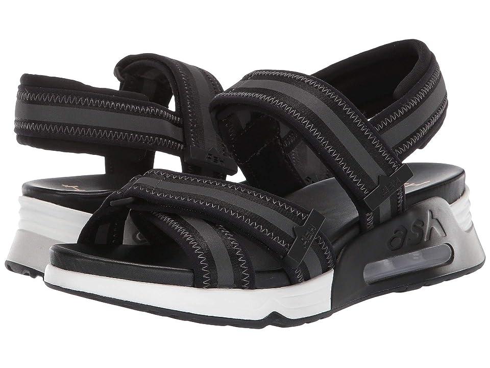 ASH Lewis (Lycra Black/Gross Grain Black/Black Reflex/Stretch Lycra Black) Women's Shoes