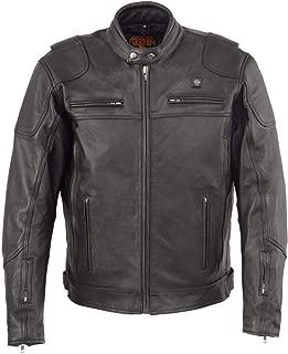 heated leather jacket