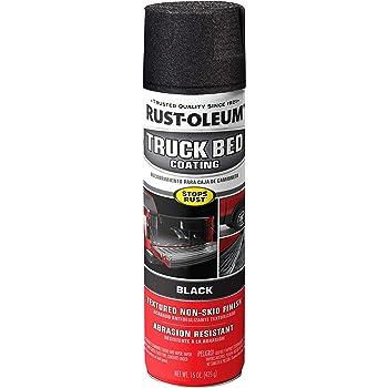 Rust-Oleum, Black 248914 Truck Bed Coating Spray, 15 oz
