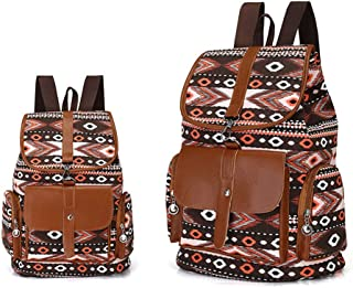 LLDDP Backpack Fashion Canvas Ladies Backpack Cloth Bohemian Style Simple  Women s Canvas Backpack Tide Leisure Outdoor a40daf3242bf4