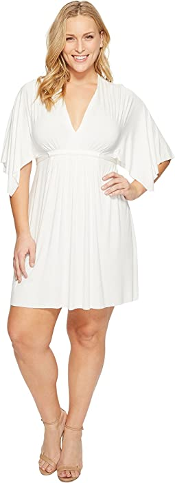 Rachel Pally Plus Size Mini Caftan Dress