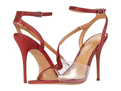 Jessica Simpson Whitley (Wicked Red/Clear) Women