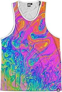 Men's Vibrant All Over Print Sleeveless Tank Top Shirts