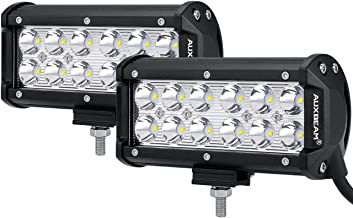 """Auxbeam 7"""" LED Light Bar 36W Spot Off Road Driving Light Waterproof for Trucks 4x4 Military Mining Boating Farming and Heavy Equipment"""