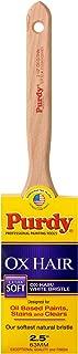 Purdy 144300025 Ox-Hair Series Ox-O-Thin Flat Trim Paint Brush, 2-1/2 inch