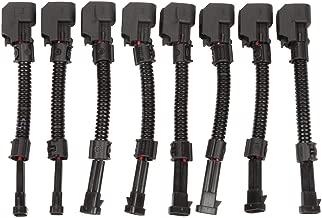 MOSTPLUS LQ4, LQ9 4.8 5.3 6.0 Delphi wire Harness to LS2 LS3 LS7 EV6 Injector Adapters(Set of 8)