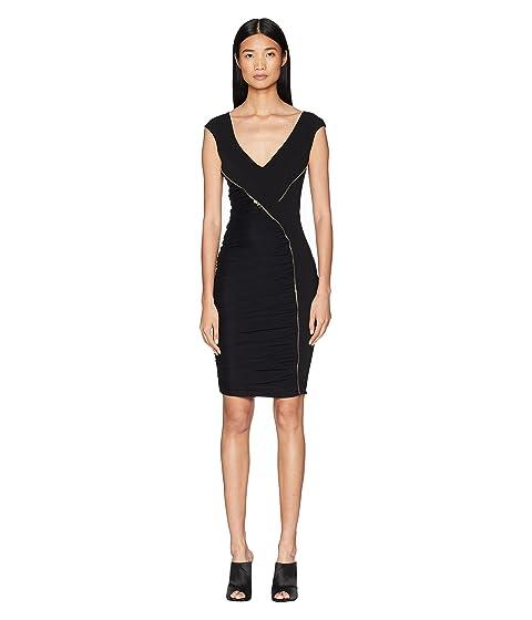Versace Collection Abito Donna Asymmetrical Zip Sheath Dress