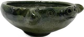 Molcajete De Barro Oaxaca, Handmade Molcajete clay, Authentic Oaxacan/Mexican Molcaje Made out of Green Clay