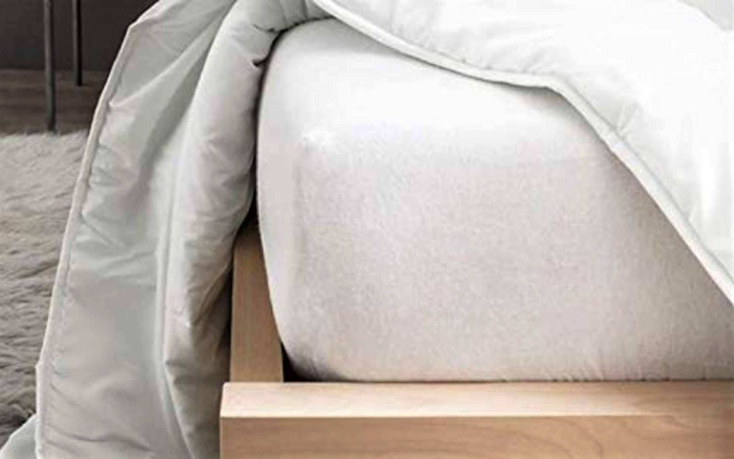 Cflagrant® Colchón/colchón (muletón 100% algodón Forma sábana Bajera tratado antiácaros Actigard® 90 x 190 cm: Amazon.es: Hogar