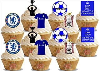 chelsea football cake decorations