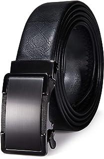 أحزمة رجالي من Dubulle Designer ، حزام إغلاق أوتوماتيكي بحزام ملابس من الجلد الأصلي هدية حزام حزام حزام