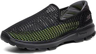 Skechers 斯凯奇 GO WALK 3系列 男 时尚镂空轻质一脚蹬健步鞋 6666002