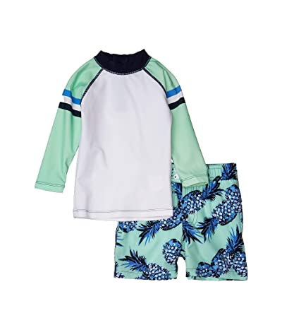 shade critters Rashguard Pineapple (Infant/Toddler) (Green) Boy