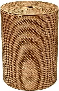 KOUBOO 1030001 Rattan Hamper with Cotton Liner, 18