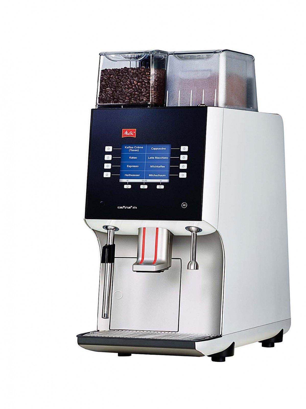 Melitta cafina XT4 – Cafetera automática, 1 molinillo y leche ...