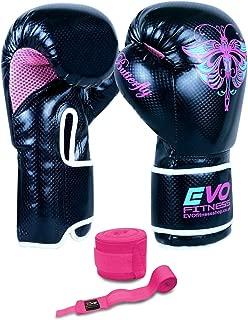 EVO Gants Gel Corps Cuir MMA Sac De Sable De Boxe Arts martiaux karat/é Mitaines