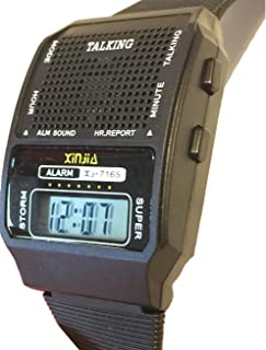 Reloj Talking Parlante Voz Español Habla Dice la Hora Alarma