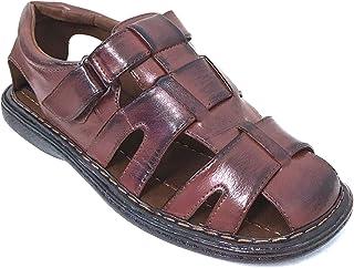 dbfcbab21c9e G4U-Veeko FLS Men s Sandals Closed Toe Adjustable Strap Buckle Fisherman  Casual Summer Shoes