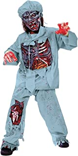 Fun World Zombie Doctor Costume for Children