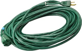Woods 990394 Landscape and Patio Extension Cord, 16/3 SJTW Light Duty, Green 80', 80-Foot