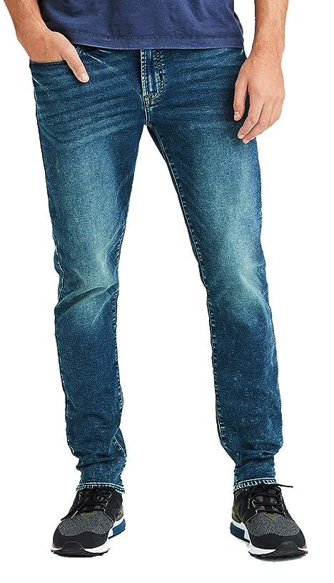 American Eagle Mens 4676936 Ne(X) t Level Slim Jean, Medium Wash