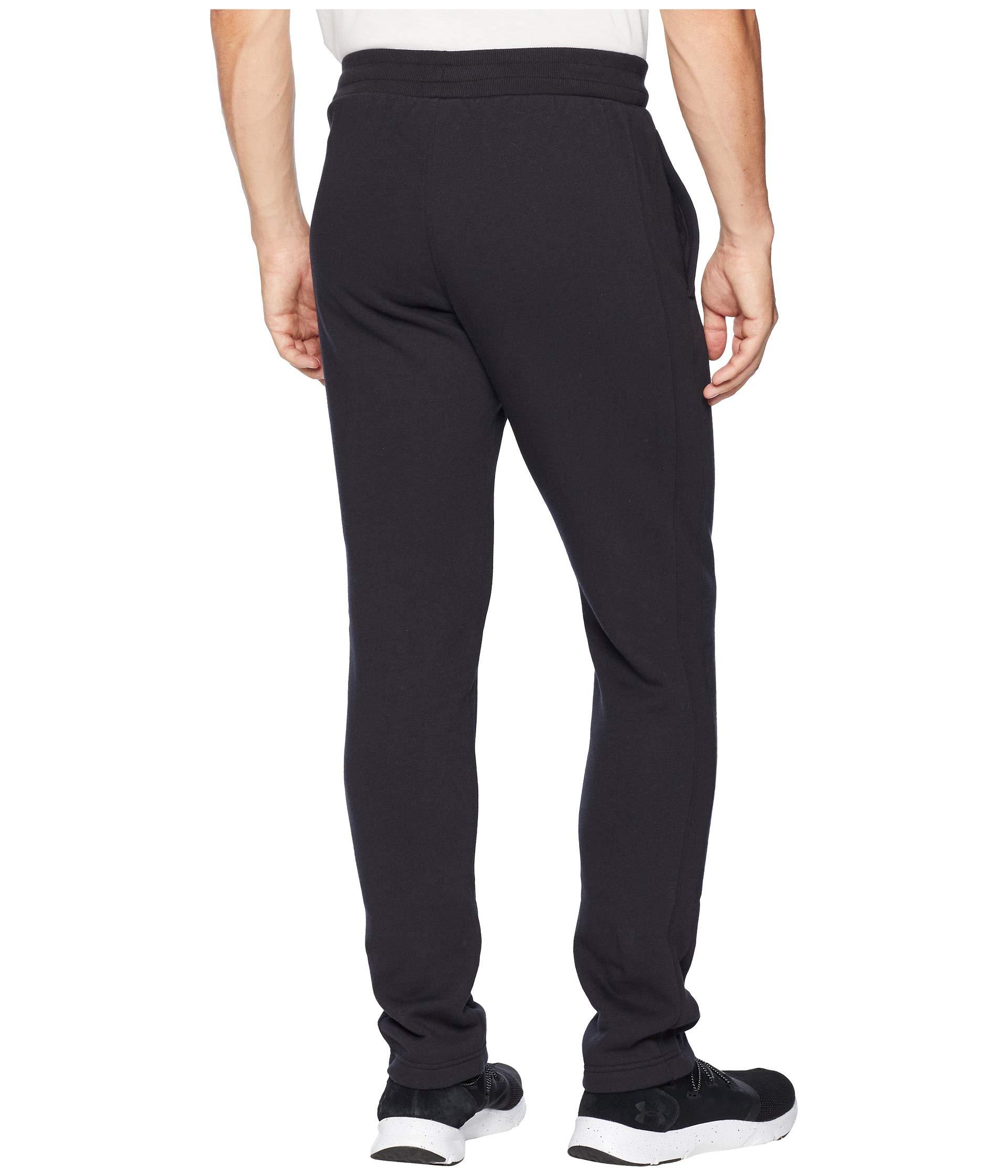 Under Fleece Rival Armour black Black Pants zRqABx1z