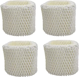 Air Filter Factory 4 Pack Compatible Replacement for Sunbeam SCM1100, SCM1701, SCM1702, SCM1762, SCM2409 Humidifier Wick Filters