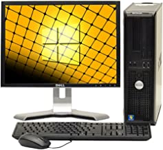 """Fast Dell Optiplex Windows 10 Desktop Computer Core 2 Duo 4GB Ram DVD, 17"""" (Brands Vary) LCD, New Mouse, Keyboard and Wifi..."""