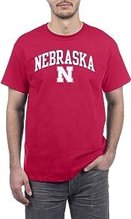 Elite Fan Shop Team Color Basic Short Sleeve College Arch T-Shirt