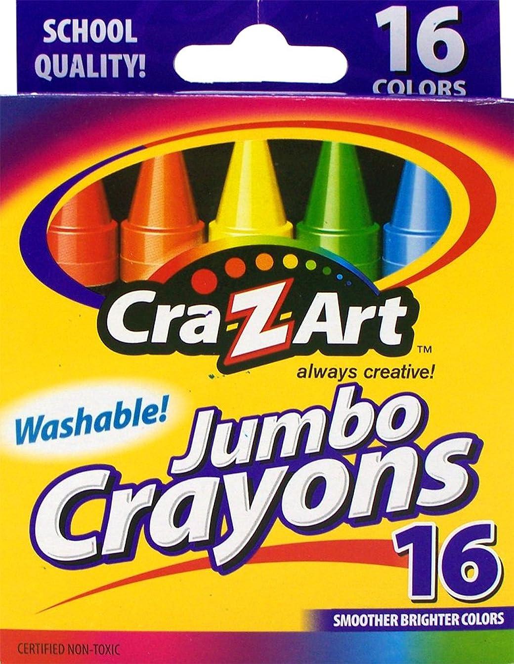 Cra-Z-art  Washable Jumbo Crayons, 16 Count  (10204)